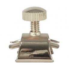 Slide-On Blattschraube für Tenor Mundstück, silber inkl. Kappe