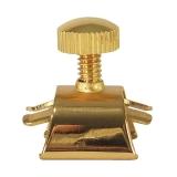Slide-On Blattschraube für Alto Mundstück, gold inkl. Kappe